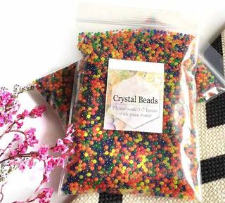Orbeez Juguete Pelotitas 12.000 Cristal Beads Aqua Bolitas