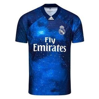 Camisa Real Madrid Ea Sports 2018/2019 Frete Grátis