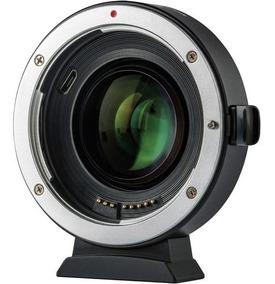 Adaptador Viltrox Ef-eos M2 0.71x Canon Ef-mount To Ef-m