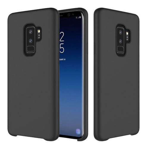 Imagen 1 de 6 de Protector Silicone Case Samsung S8 S8 Plus S9 S9 Plus