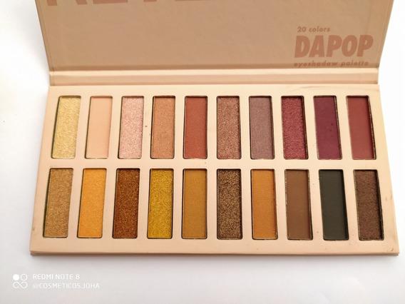 Paleta Revealed Dapop, 20 Tonos Satinados Y Mattes