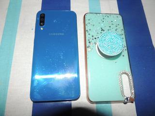 Celular Samsung A50 64gb Dual Sim Usado