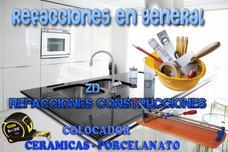 Colocador Ceramica-porcelanato-refacciones-construccion