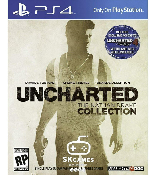 Uncharted:the Nathan Drake Collection-ps4 D!glt4l 1