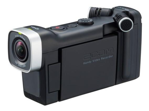 Gravador De Vídeo Digital Zoom Q4n Hd Handy Vídeo Recorder