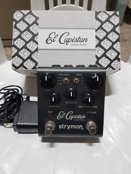 Pedal Strymon El Capistan - Top Boutique - Super Conservado!