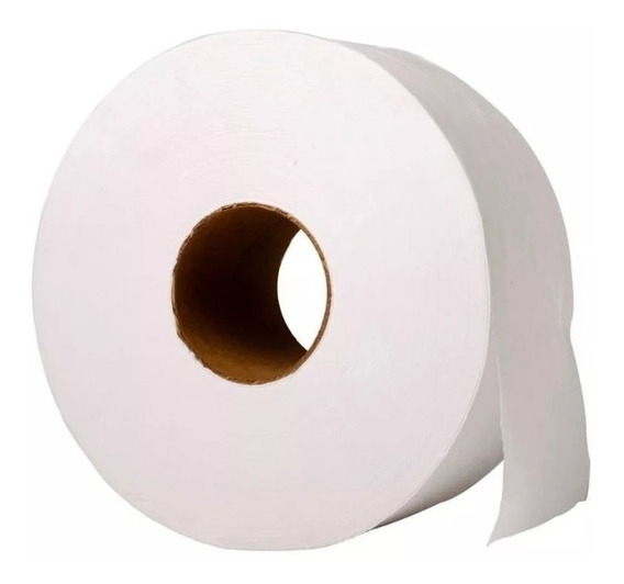 64 Rollos Papel Higiénico Blanco Tissue X 300 Mts Dispenser