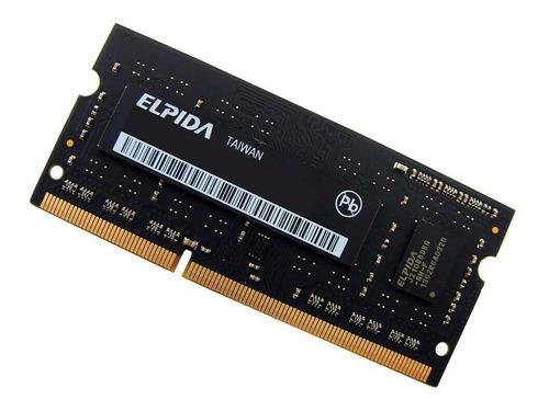 Memoria Ram Elpida 2gbx2 (4gb) 1rx8 Pc3-12800s-11-10-b2