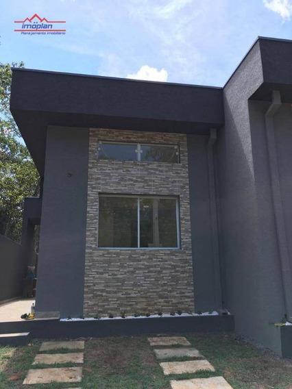 Casa À Venda, 56 M² Por R$ 195.000,00 - Jardim São Felipe - Atibaia/sp - Ca3327