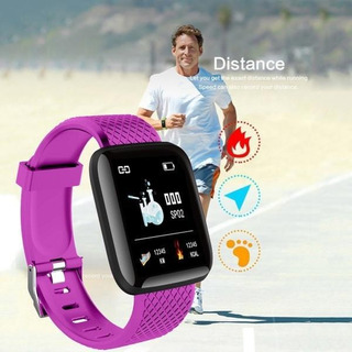 Reloj Inteligente Smartwatch Fuccia Deporte Android iPhone