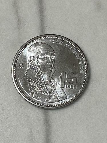 Imagen 1 de 2 de Moneda De 1 Peso José María Morelos 1986, Envio Gratis!