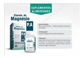 Cloreto De Magnésio Pa C/60 Caps