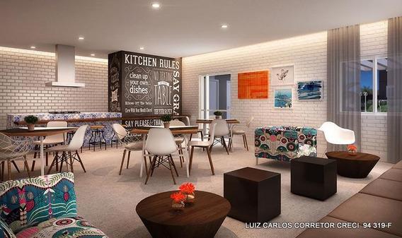 Apartamento Com 2 Dormitórios À Venda, 47 M² Por R$ 239.000,00 - Jardim Monte Alegre - Taboão Da Serra/sp - Ap0003