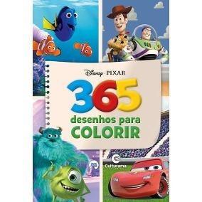 Livro Com 365 Desenhos Para Colorir Disney 367 Paginas