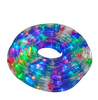 Manguera Tira De Luz Led Multicolor 10 Mts Con Efectos