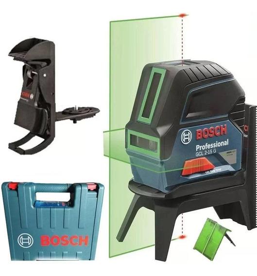 Nivel A Laser Linha E Ponto Gcl 2-15 G Potencia Verde Bosch