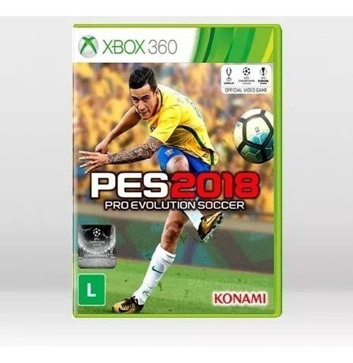 Jogo Pro Evolution Soccer 2018 Pes X360 Port. Física Novo