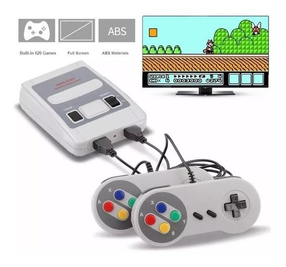 Super Mini Sfc Videogame 620 Jogos Classicos Frete Gratis