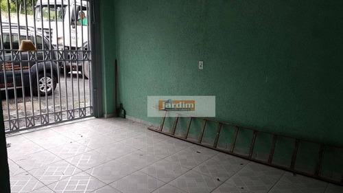 Sobrado Residencial À Venda, Demarchi, São Bernardo Do Campo. - So2186