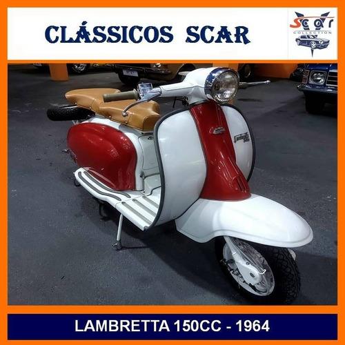 Imagem 1 de 15 de Lambretta Li - 1964