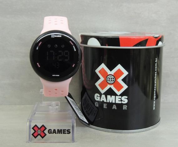 Relógio Feminino Digital X Games Mod: Xfppd060 Pxrx ( Nf)