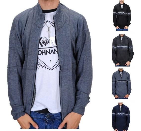 Moletom Suéter Masculino Blusa Frio Para Inverno Algodão F11