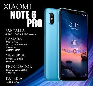 Xiaomi Redmi Note 6 Pro De 64gb