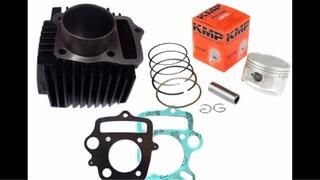 Kit Competição (cilindro/pistão /anéis 4mm) Pop 100/biz C100