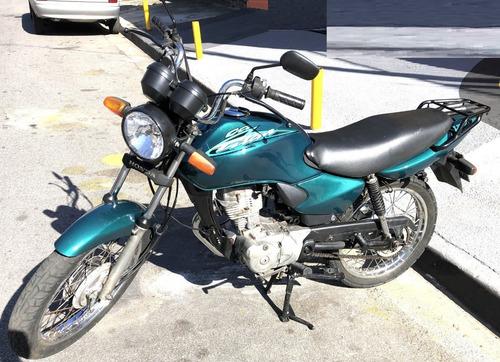 Honda Cg 125 Titan Ks Verde Novíssima