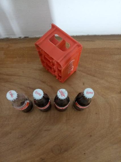 Mini Botellitas De Coca Cola Mas Cajon