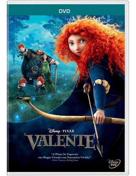 Dvd Valente Disney.pixar - Dublado - Novo E Lacrado