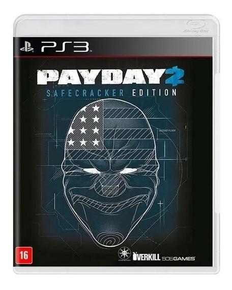 Jogo Payday 2 Safecracker Edition Ps3 Mídia Física