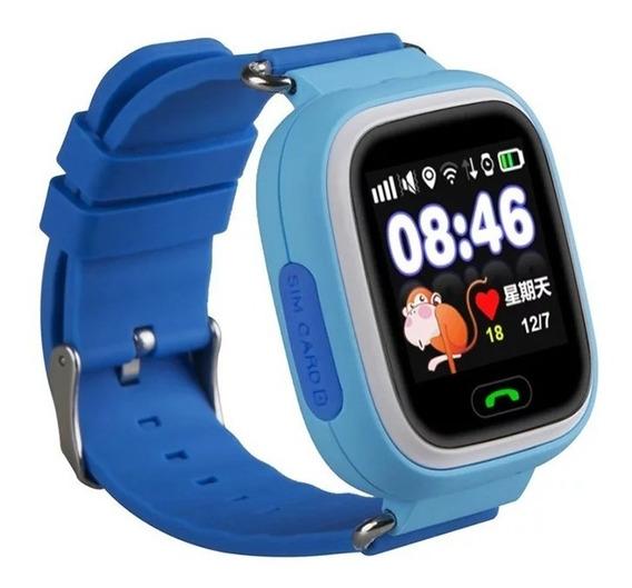 Smartwatch Q90 Gps Reloj Celular Llamadas Mensajes