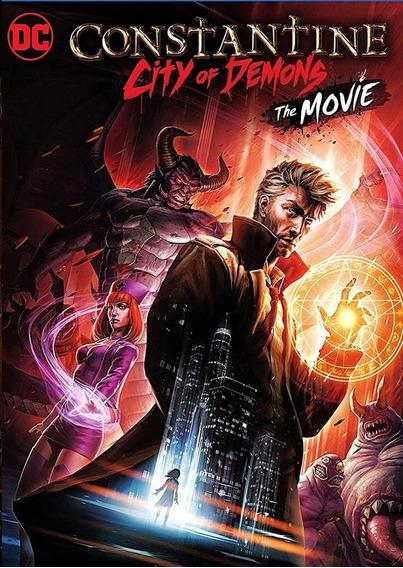 Dvd Constantine: Cidade De Demônios - Lançamento 2018