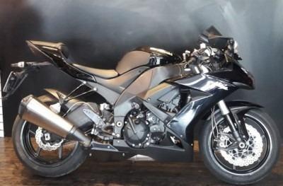 Motocicleta Kawasaki Ninja Zx 10r 2009 Preta