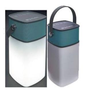 Parlante Bluetooh Verbatim Linterna 2 En 1 Resiste Agua