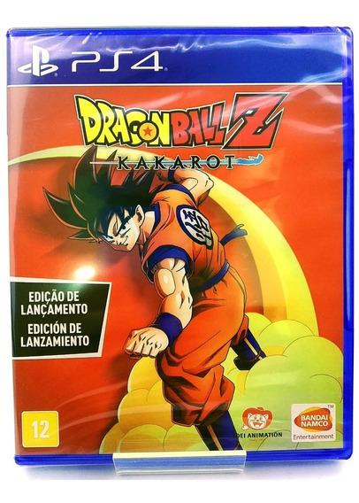 Dragon Ball Z Kakarot Ps4 Mídia Física Nacional Br Lacrado