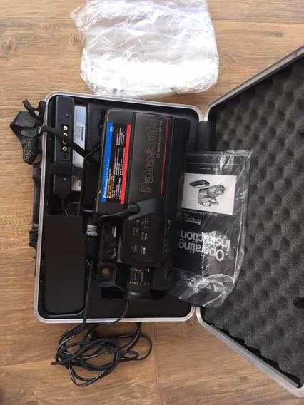 Câmera Filmadora Panasonic Antiga Colecionador Coleção