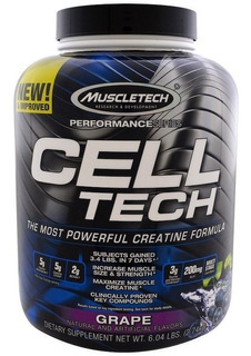 Cell Tech 6 Lb 2,72 Kg Muscletech Creatina Post Entreno Performance Series