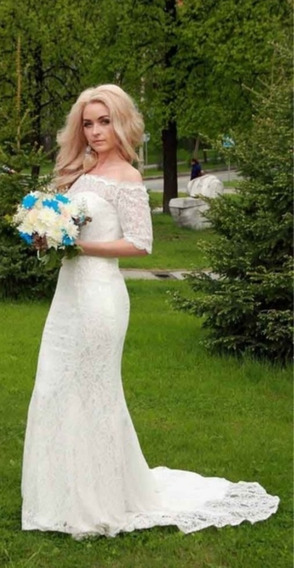 Vestido Noiva, Festa, Casamento, Lindo,com Calda, Promoção