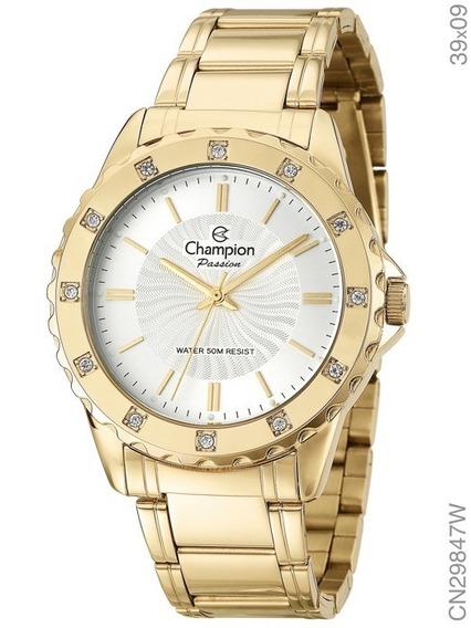 Relógio Champion Feminino Original Cn29847w + Nota Fiscal