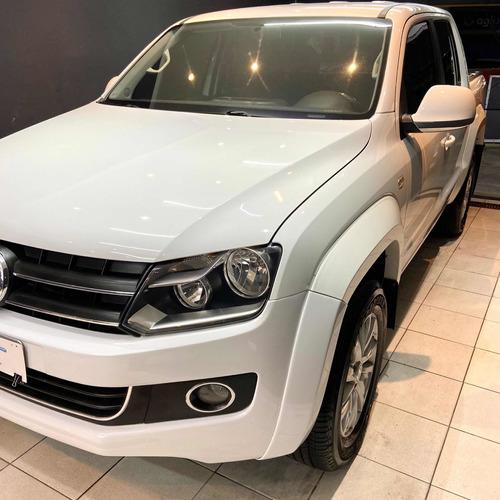 Imagem 1 de 8 de Volkswagen Amarok 2.0 Highline Cab. Dupla 4x4 4p Automática