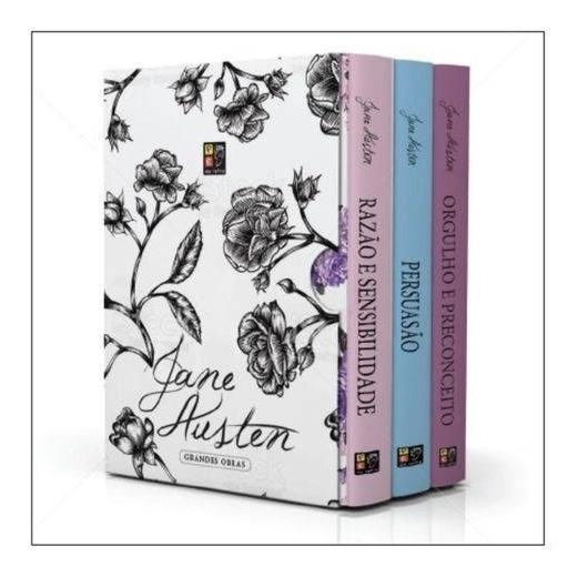Livro Box - Jane Austen Com 3 Livros