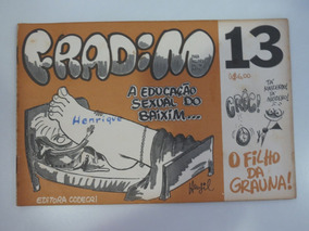Revista Fradim Nº 13 Henfil - Editora Codecri