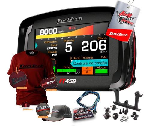 Ft450 Fueltech C/ Chicote 3m+ Ultra Brinde Cami.bordo Gel Bc