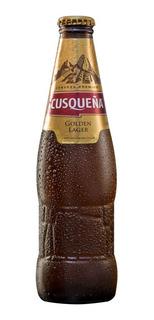 Caja X12 Cerveza Cusqueña Porron 330 Ml