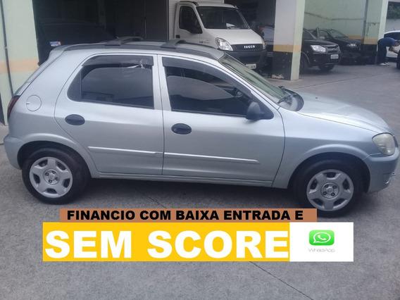 Chevrolet Celta Completo Financiamento Com Score Baixo