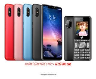 Celular Xiaomi Redmi Note 6 Pro 4gb+64gb Modelo Nuevo