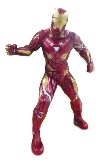 Muñeco Iron Man Revolution Gigante 50 Cm Articulado Original