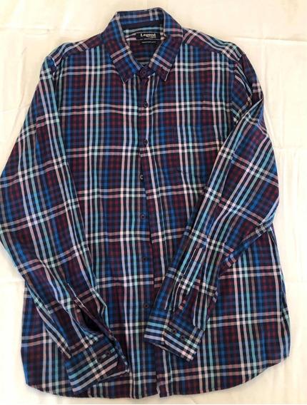 Camisa Legacy Original A Cuadros, Usada Como Nueva Talle Xl